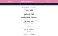 'Time Problems (3)' worksheet