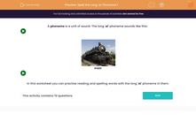 'Spell the Long 'ai' Phoneme 1' worksheet