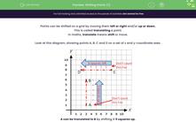 'Shifting Points (1)' worksheet