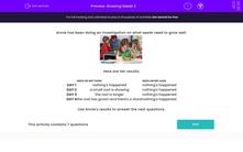 'Growing Seeds 2' worksheet