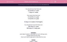 'Time Problems (4)' worksheet