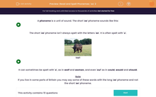 'Read and Spell Phonemes: 'oo' 2' worksheet