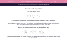 'Find Rotations of Combined Shape ' worksheet