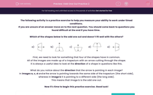 'Odd One Out Practice 2' worksheet